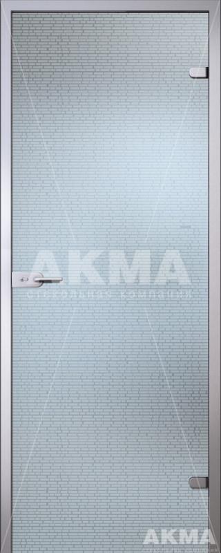 Дверь стеклянная Акма Satin Маттони