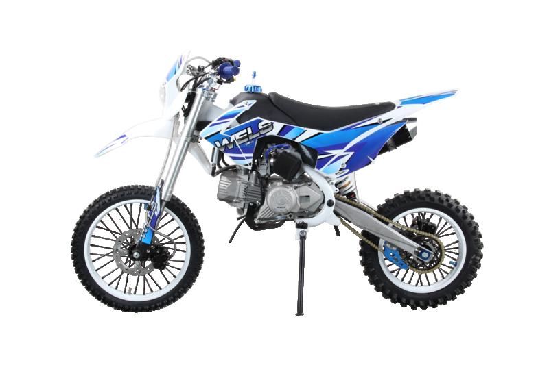 Мотоцикл WELS CRF 190 (синий)