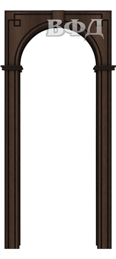 Межкомнатная арка ВФД Классика шпон Венге