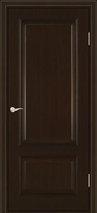 Межкомнатная дверь шпон Завод Деревоизделий 105 ДГФ Венге