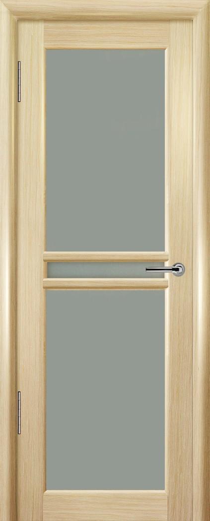 Межкомнатная шпонированная дверь Ареал Империя ДО 3 стекла Выбеленный дуб 2000x800 (ПОСЛЕДНИЙ РАЗМЕР ПО АКЦИИ)