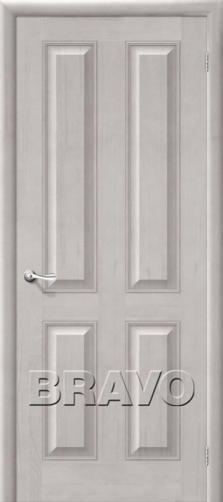 Дверь из массива Bravo М15 Т-07 (Белый Воск) ПГ