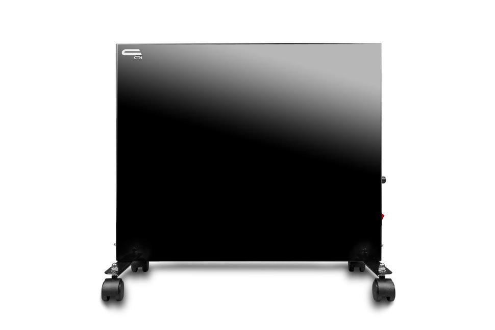 Конвектор отопления СТН черный 300 Вт с терморегулятором