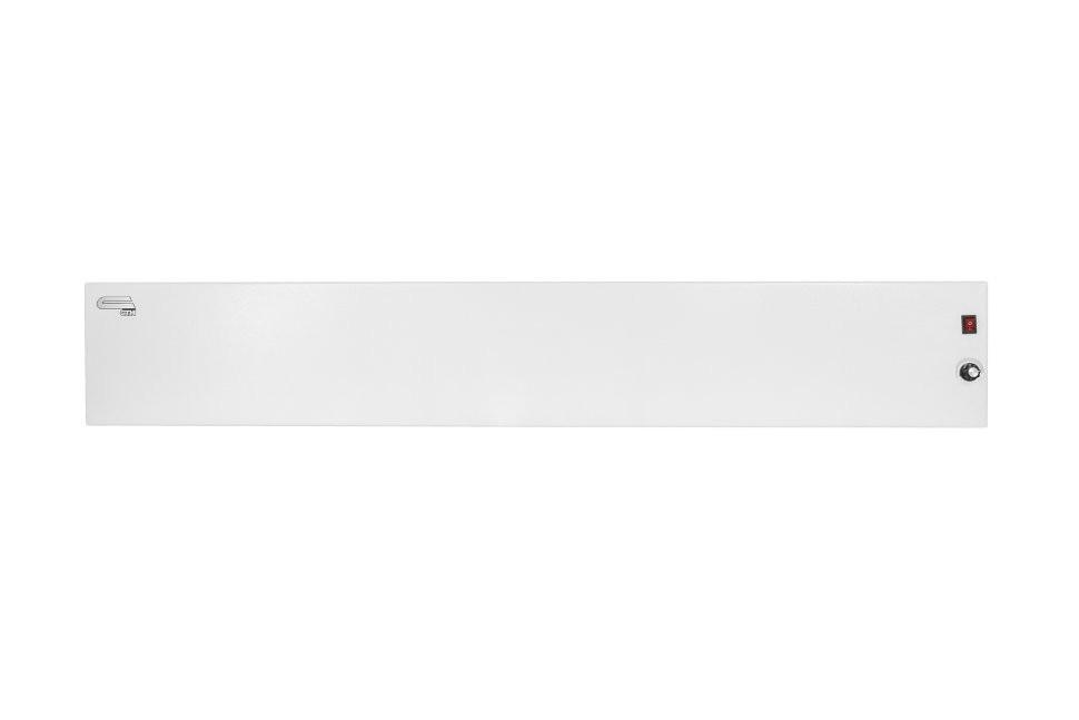 Конвектор отопления плинтусный СТН белый Р-1 Т с терморегулятором