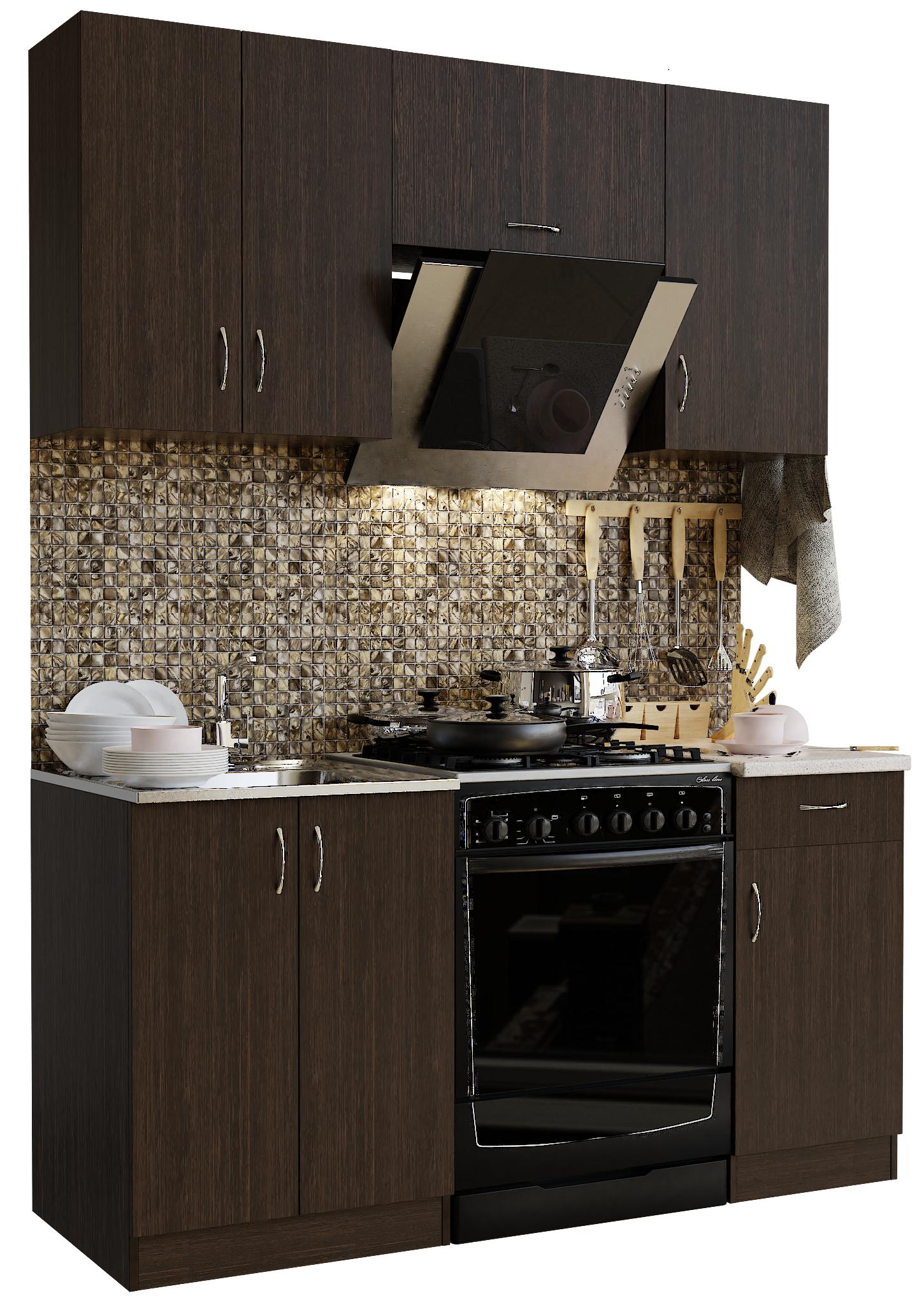 Кухонный гарнитур Sanvut ГК1600-3.3.2 Венге