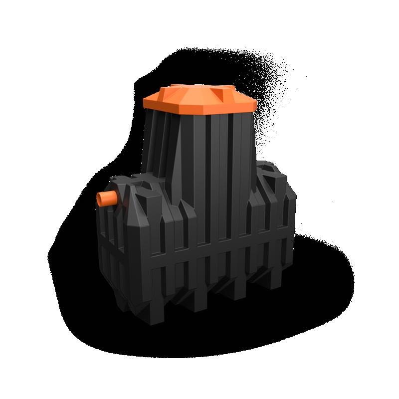 Автономная канализация Ergobox 3 PR в комплекте с сигнализацией