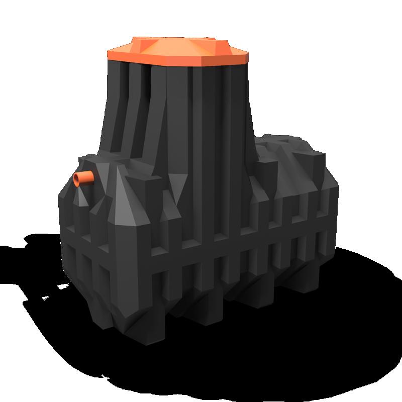 Автономная канализация Ergobox 10 PR в комплекте с сигнализацией
