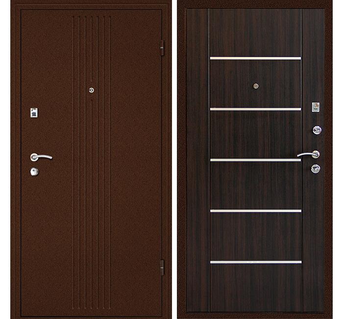 Сейф-дверь Дверной Континент Синергия Венге