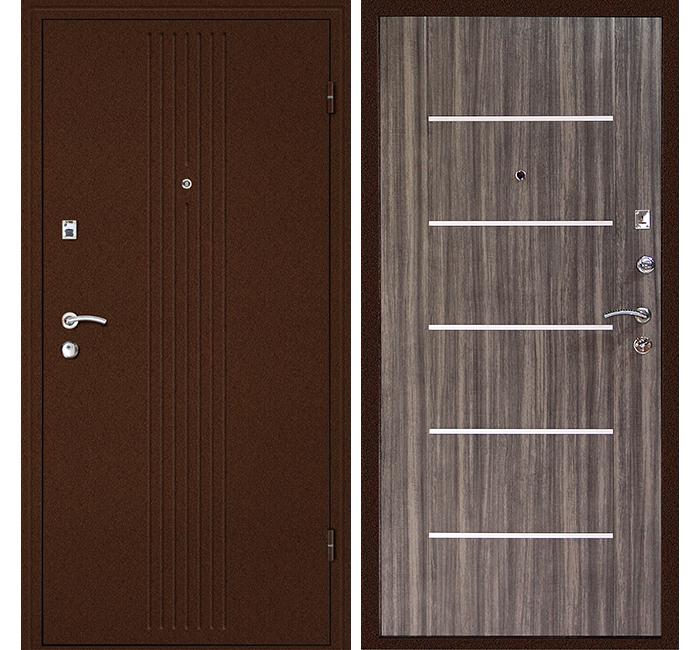 Сейф-дверь Дверной Континент Синергия Дуб санома