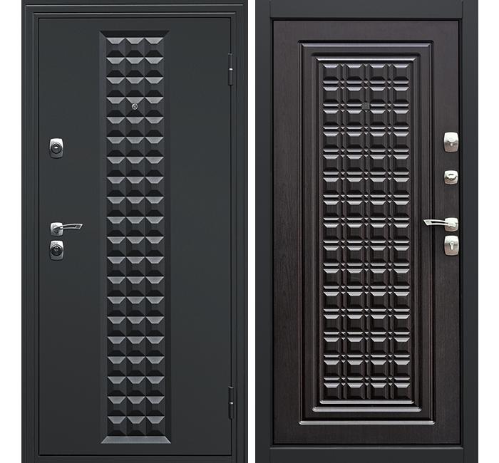 Сейф-дверь Дверной Континент Контур Венге