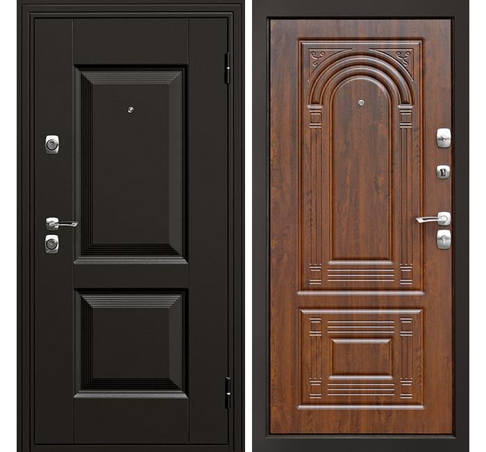 Сейф-дверь Дверной Континент Гранд Орех