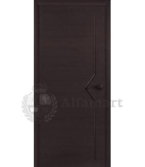 Ламинированная дверь Восход Плато ДГ Венге 2000x600 (ПОСЛЕДНИЙ РАЗМЕР ПО АКЦИИ)