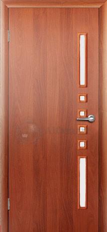 Ламинированная дверь Восход Данза ДО Орех Сатин ЛЕВАЯ 2000x700 (ПОСЛЕДНИЙ РАЗМЕР ПО АКЦИИ)