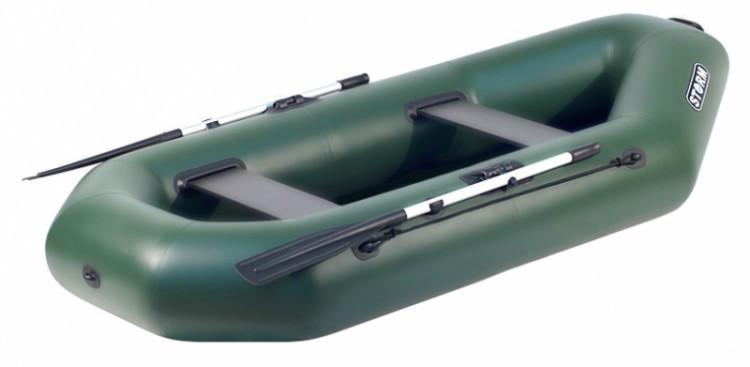 Надувная гребная лодка Aqua Storm St 260ma-34 Magellan Оливковая