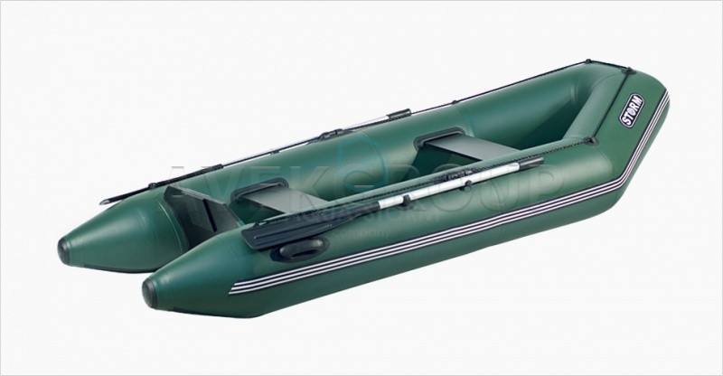 Моторная лодка Aqua Storm Stm 260-40 Зеленая