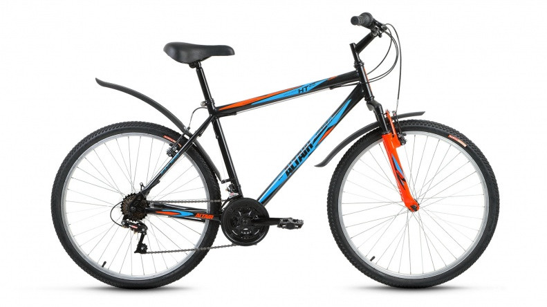 "Горный велосипед Altair MTB HT 2.0 2018 рама 17"" черный"