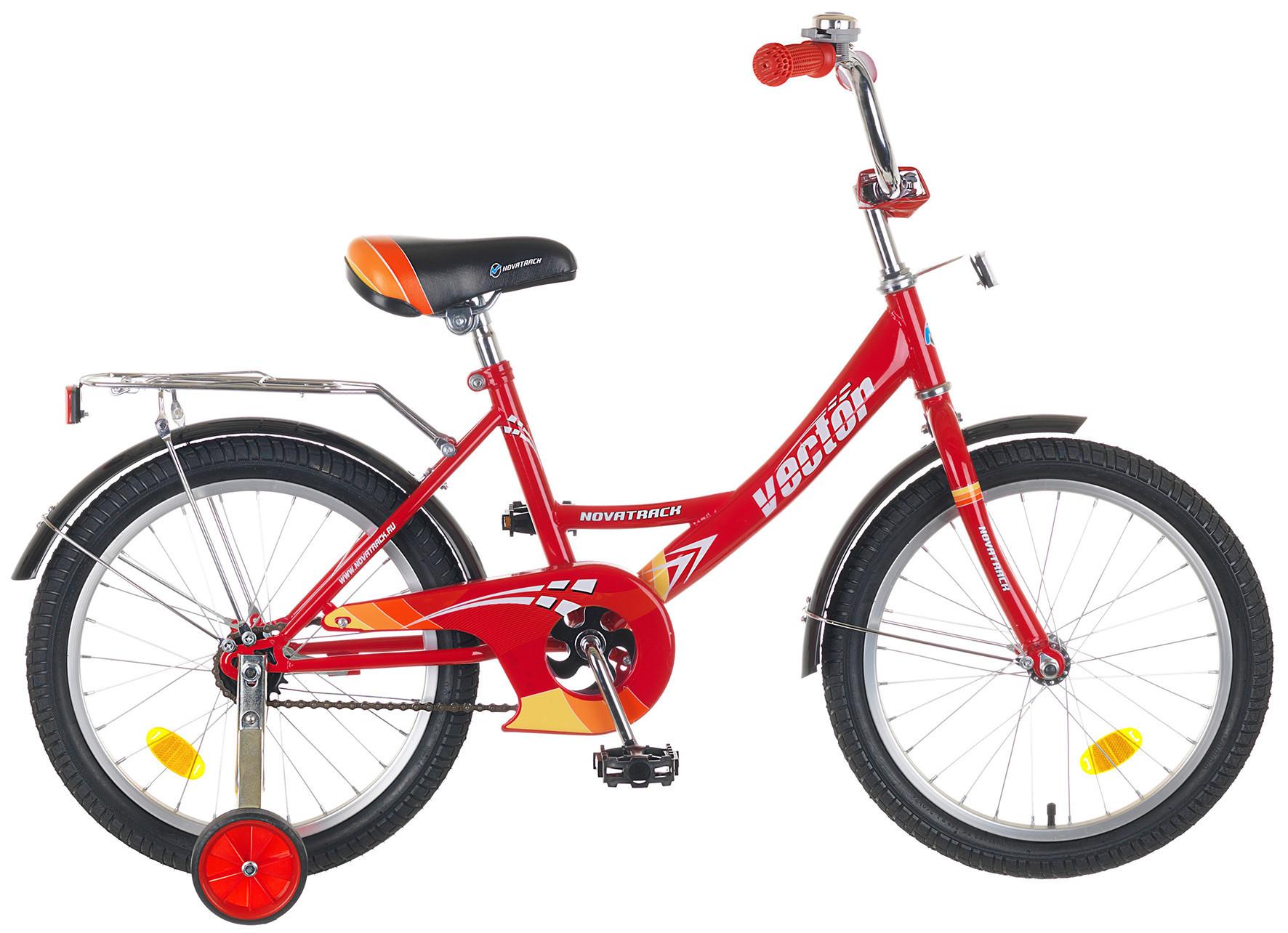 """Детский велосипед Novatrack Vector 14"""" красный"""