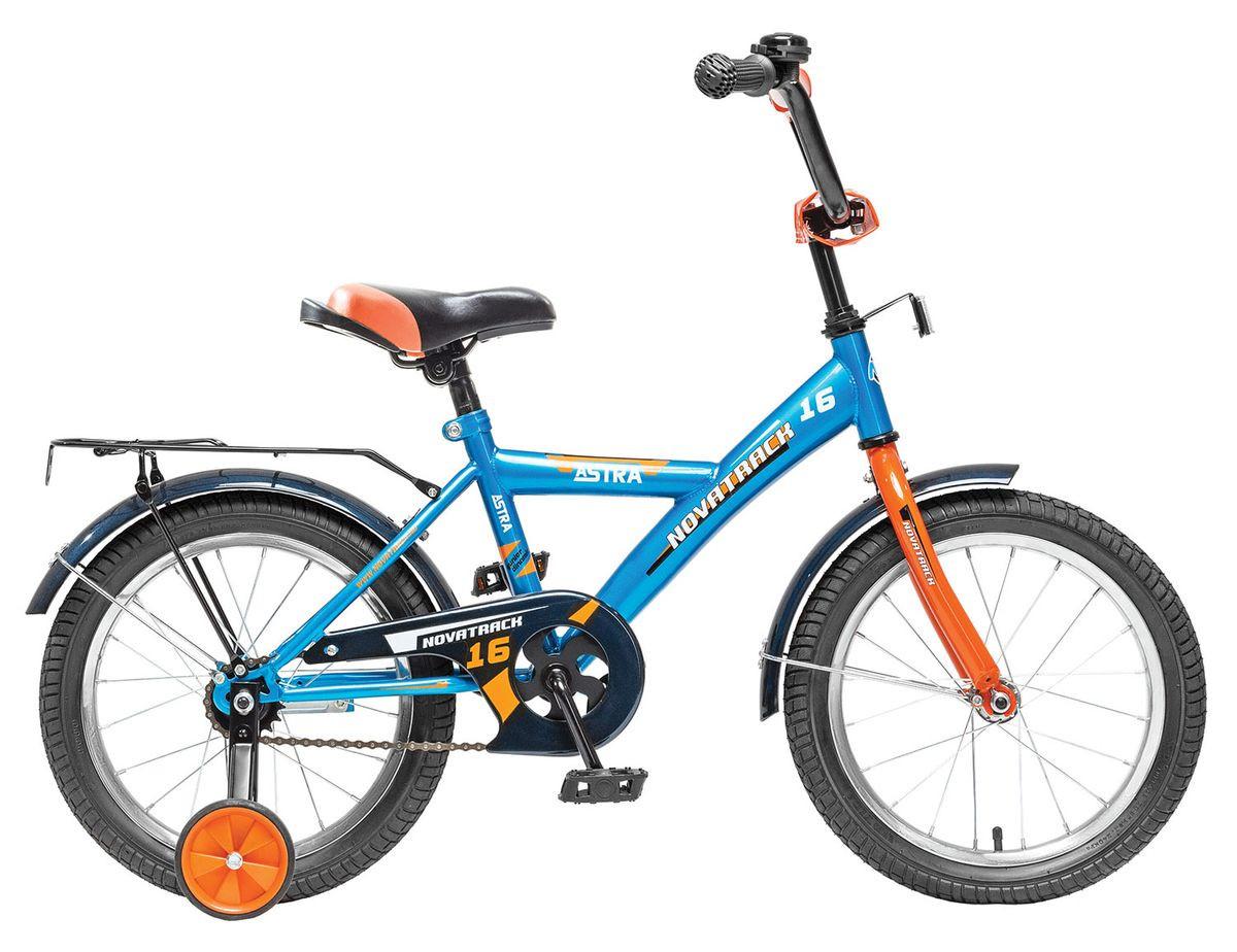 """Детский велосипед Novatrack Astra 2015 16"""" синий"""