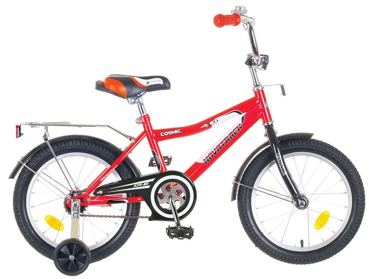 """Детский велосипед Novatrack Cosmic 16"""" красный"""