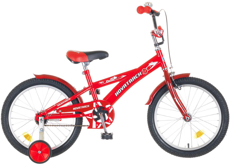 """Детский велосипед Novatrack Delfi 16"""" красный"""
