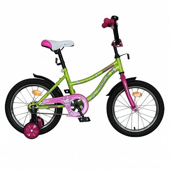 """Детский велосипед Novatrack Neptun 16"""" салатовый"""