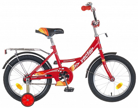 """Детский велосипед Novatrack Vector 16"""" красный"""