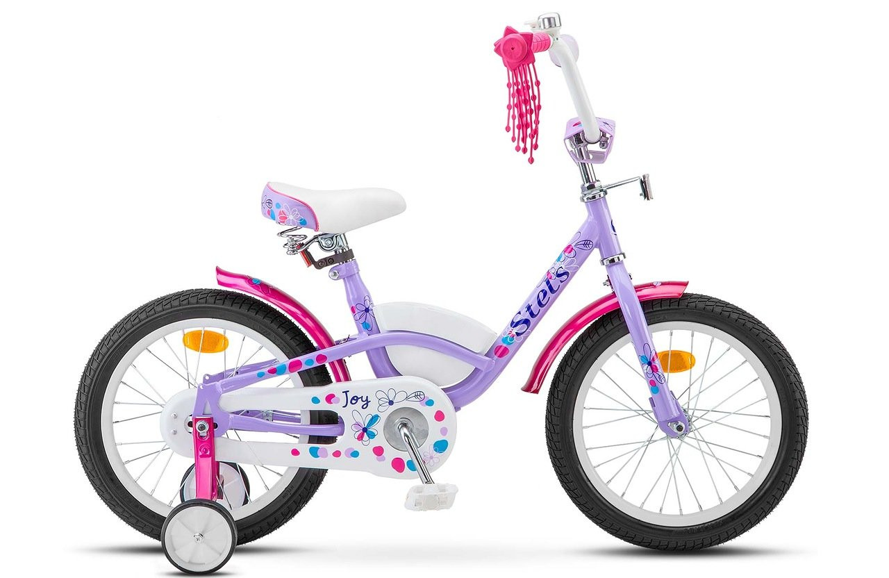 """Детский велосипед Stels Joy 2017 V020 16"""" фиолетовый/розовый"""