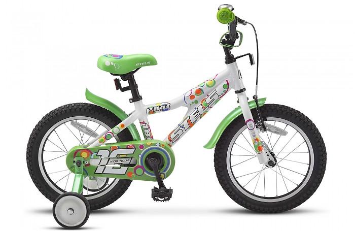 """Детский велосипед Stels Pilot-180 2015 16"""" белый/зеленый"""
