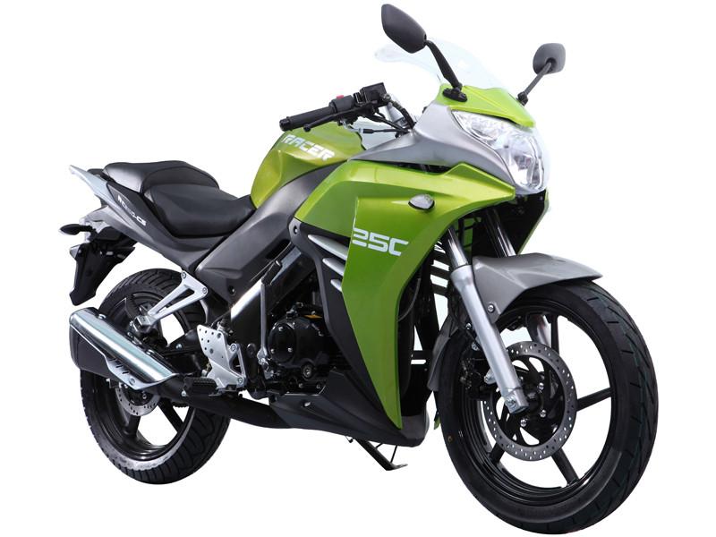 Мотоцикл RACER Skyway RC250CS зеленый