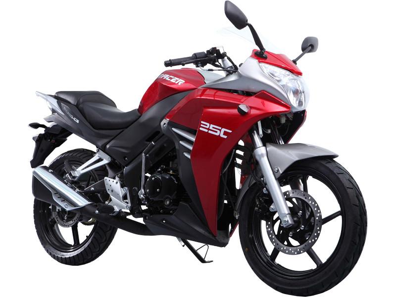 Мотоцикл RACER Skyway RC250CS красный