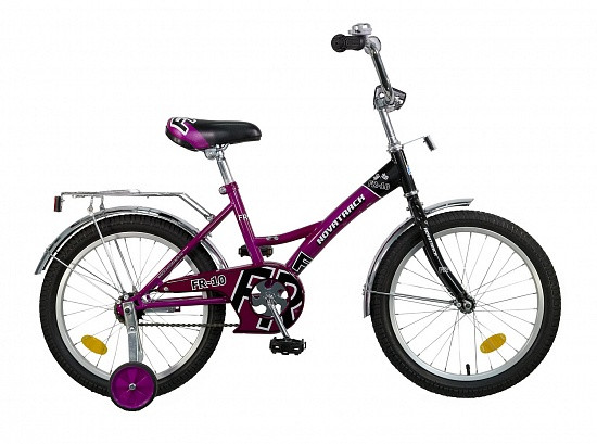 """Детский велосипед Novatrack FR-10 2015 18"""" фиолетовый"""