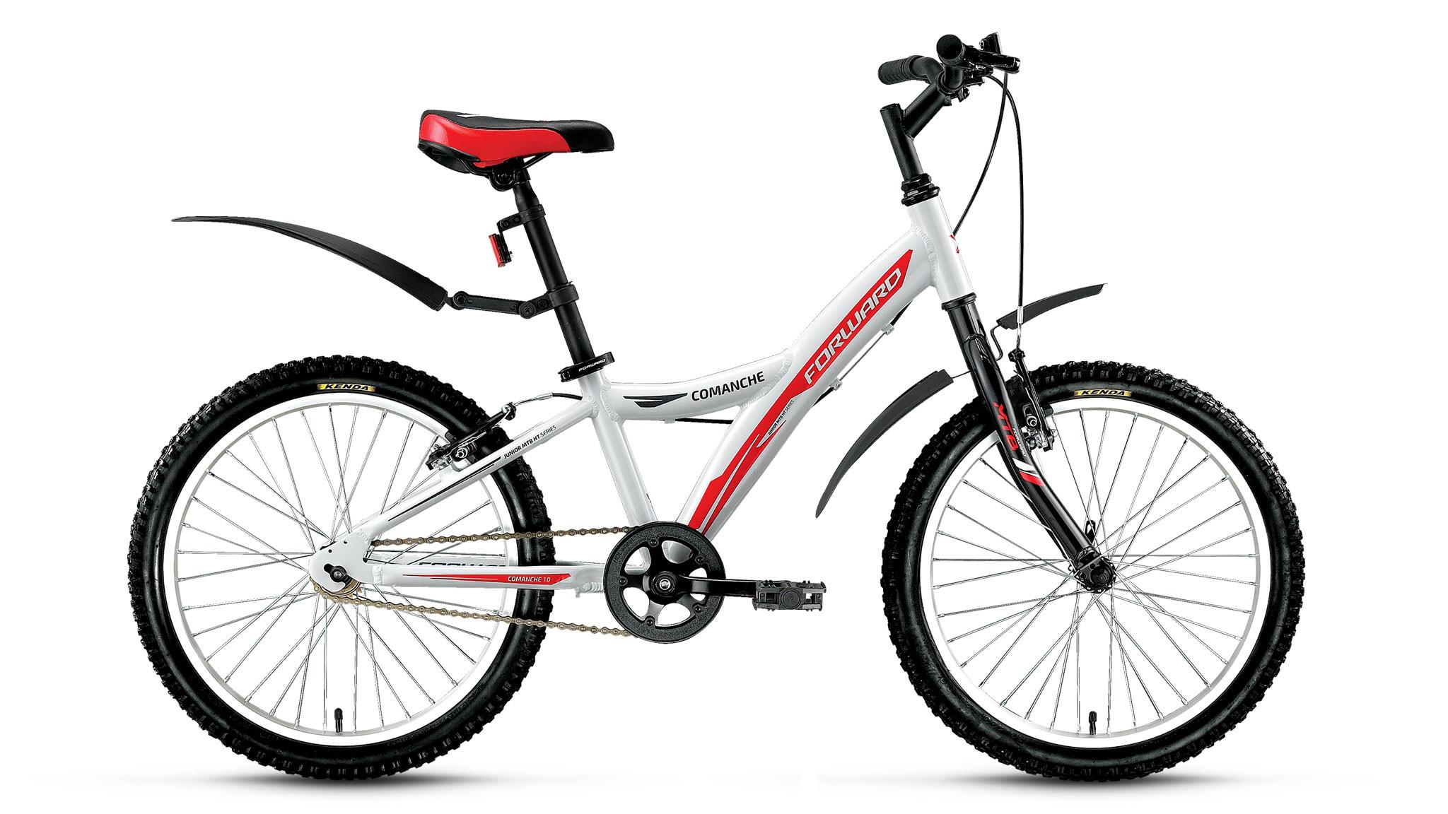 Детский велосипед Forward Comanche 1.0 2018 белый