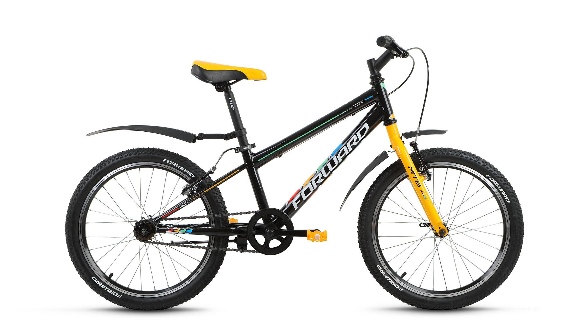 Детский велосипед Forward Unit 1.0 2018 черный