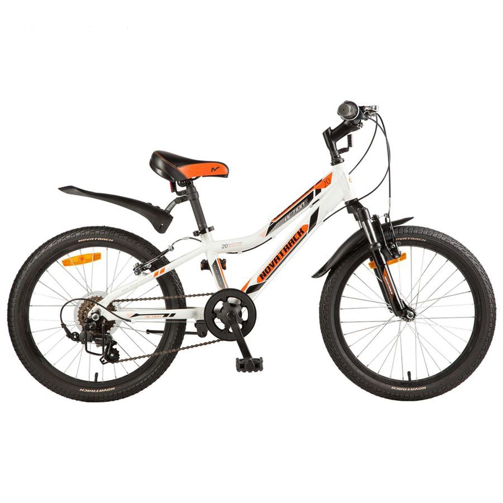 """Детский велосипед Novatrack Action 2017 20"""" белый"""
