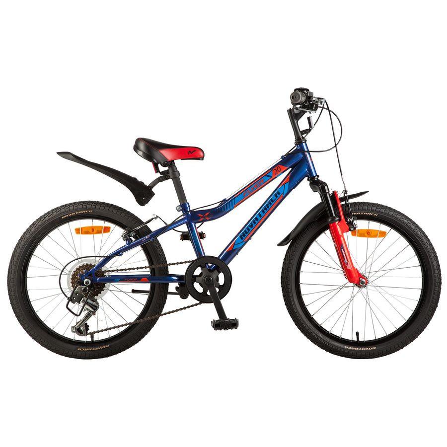 """Детский велосипед Novatrack Flyer 2017 20"""" синий"""