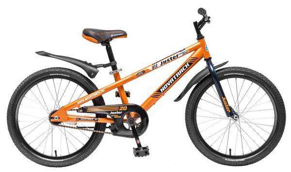 """Детский велосипед Novatrack Juster 2015 20"""" оранжевый"""