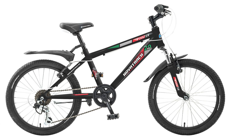 """Детский велосипед Novatrack Pointer 2017 20"""" черный"""