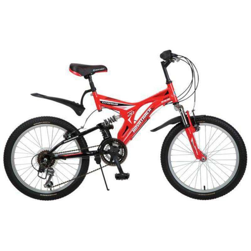 """Детский велосипед Novatrack Titanium 2016 20"""" красный"""