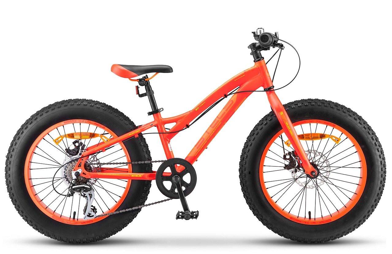 Детский велосипед Stels Pilot-280MD 2017 V020 неоновый красный