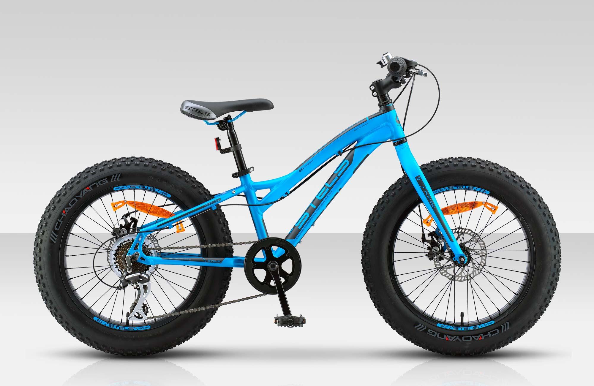 Детский велосипед Stels Pilot-280MD 2017 V020 синий матовый