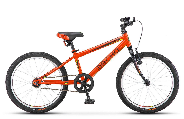Детский велосипед Десна Феникс 2018 оранжевый