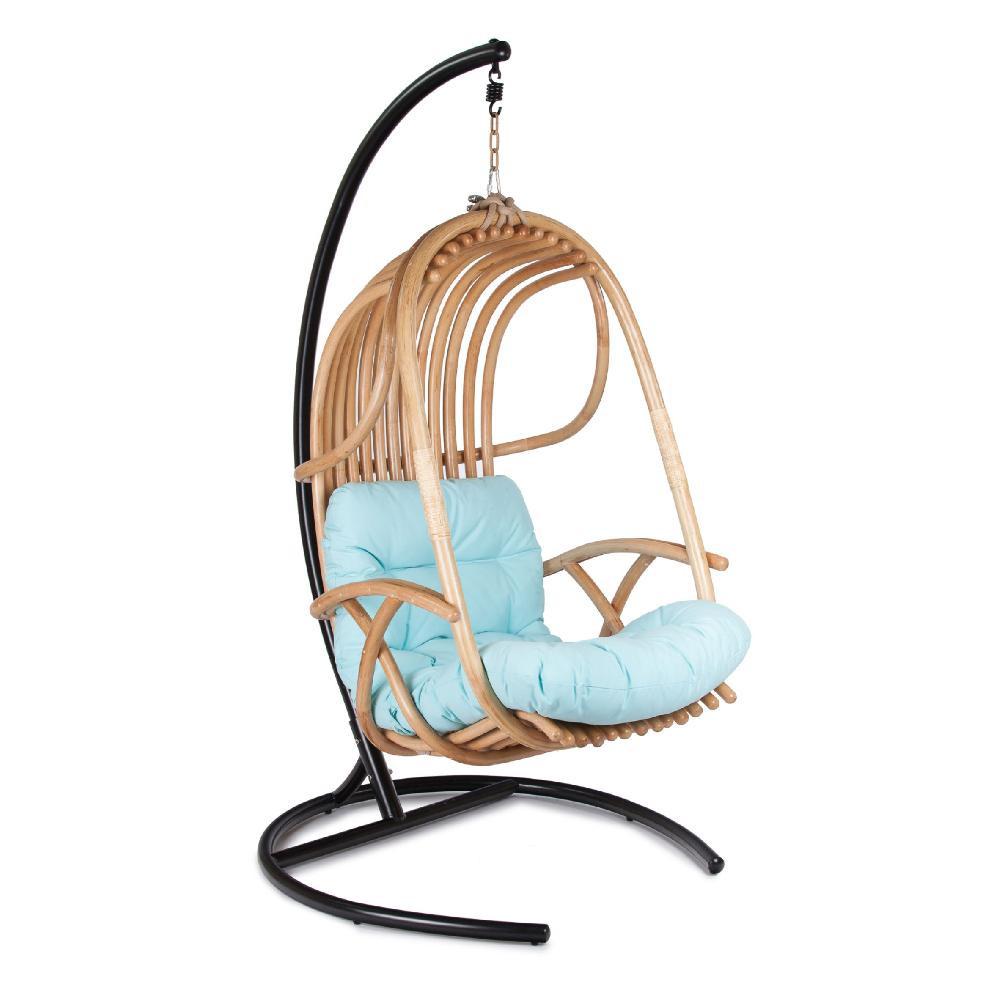 Подвесное кресло из натурального ротанга Экодизайн Swing