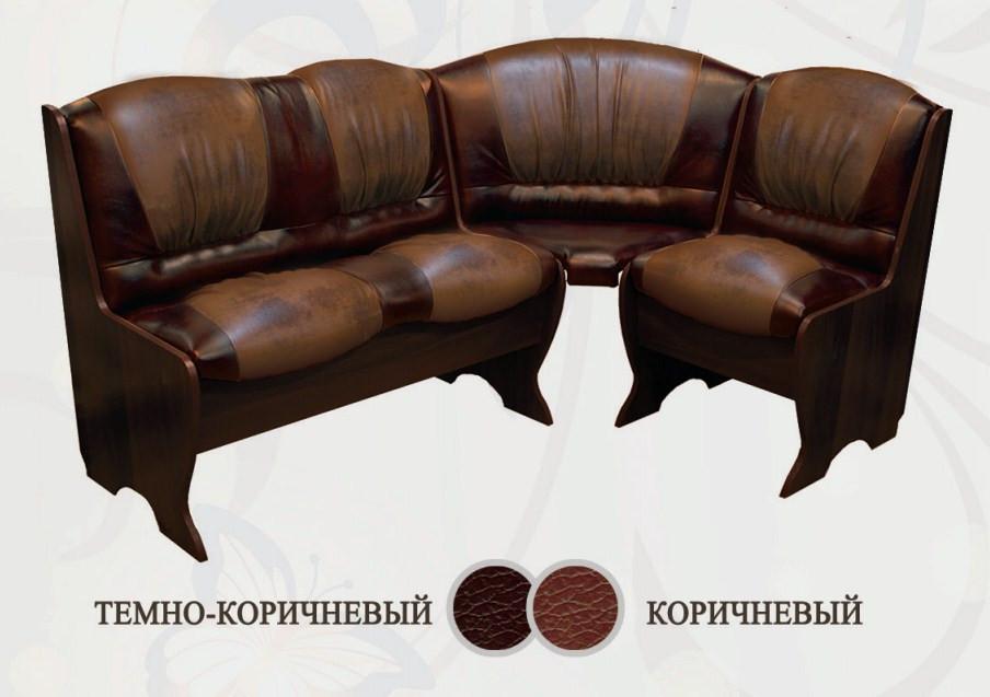 Кухонный уголок Сибирский Двор Торрес Классик Венге / Темно-коричневый / Коричневый