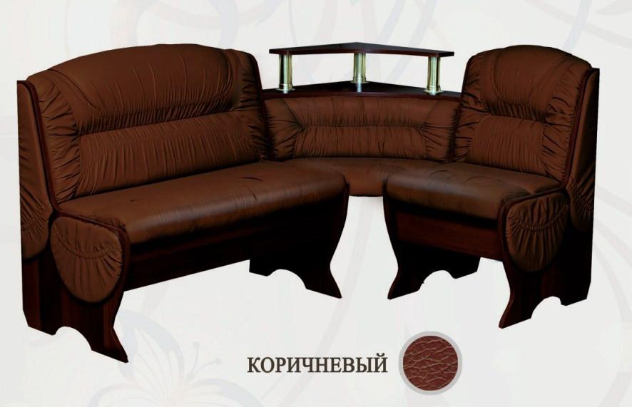 Кухонный уголок Сибирский Двор Калипсо Бар Венге / Коричневый