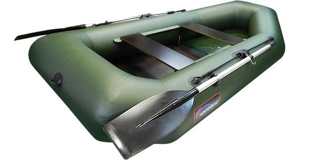 Надувная гребная лодка Хантер 250 МЛ Зеленая