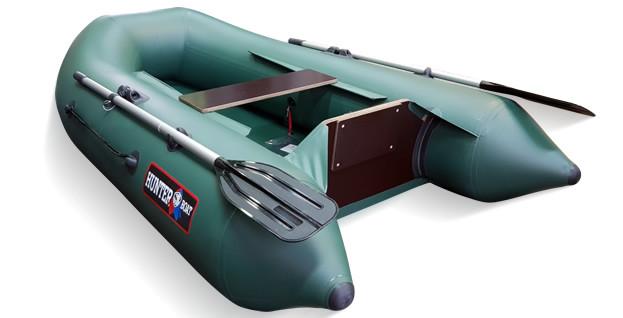 Моторная лодка Хантер 240 Зеленая