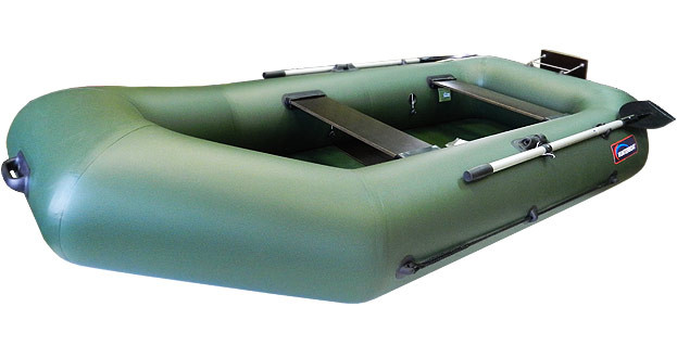 Моторная лодка Хантер 280 РТ Зеленая