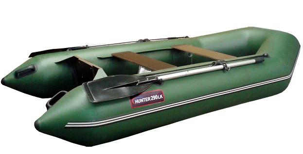 Килевая лодка Хантер 290 ЛК Зеленый