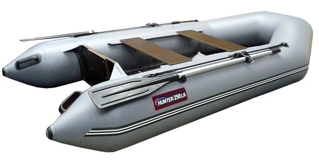 Килевая лодка Хантер 290 ЛК Серая