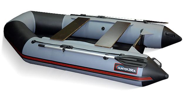 Килевая лодка Хантер 290 ЛКА Серая